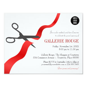 Grand Openings Invitations Zazzle