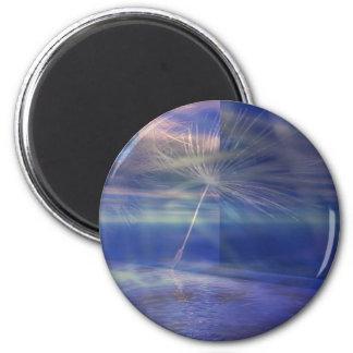 Simple Reflection Fridge Magnets