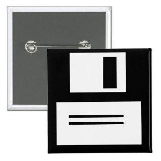 Simple Retro Floppy Disk Button