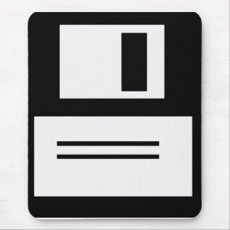 Simple Retro Floppy Disk Mousepad