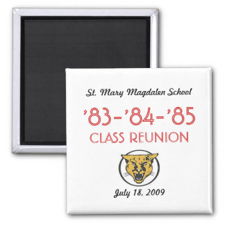 Simple Reunion- All Class 2 Inch Square Magnet