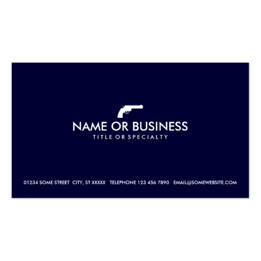 simple revolver business cards