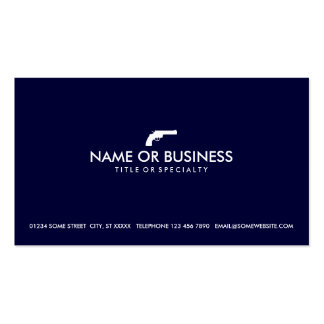 simple revolver Double-Sided standard business cards (Pack of 100)