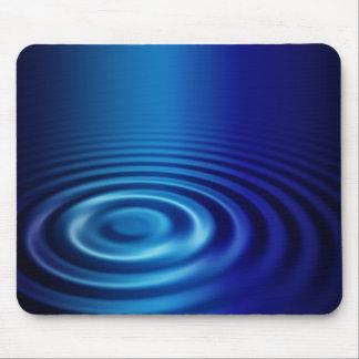simple ripple light mouse pad