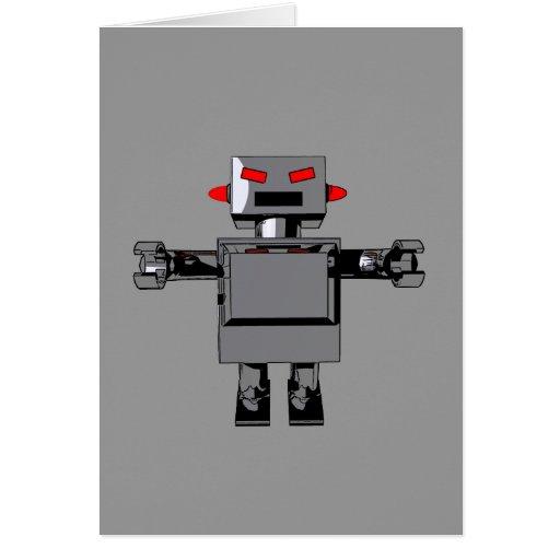 Simple Robot Card