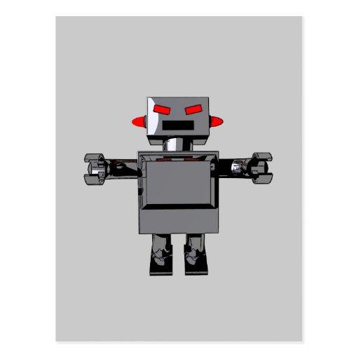 Simple Robot Postcard