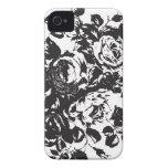Simple Rose Petal Design iPhone 4 & 4s Case Case-Mate iPhone 4 Case
