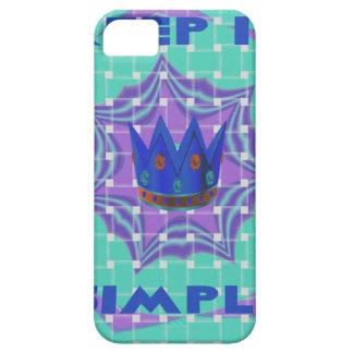 Simple Royal iPhone SE/5/5s Case