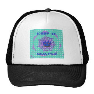 Simple Royal Trucker Hat