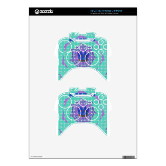 Simple Royal Xbox 360 Controller Decal