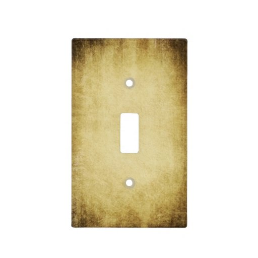 Simple Rustic Light Switch Cover