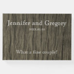 [ Thumbnail: Simple & Rustic Wedding/Marriage Guestbook ]
