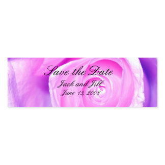 Simple, Save the Date, Mini Business Card