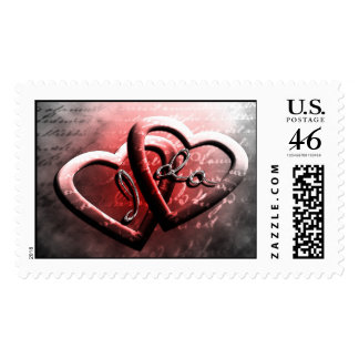 Simple Save The Date Postage Stamp