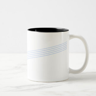 simple score Two-Tone coffee mug