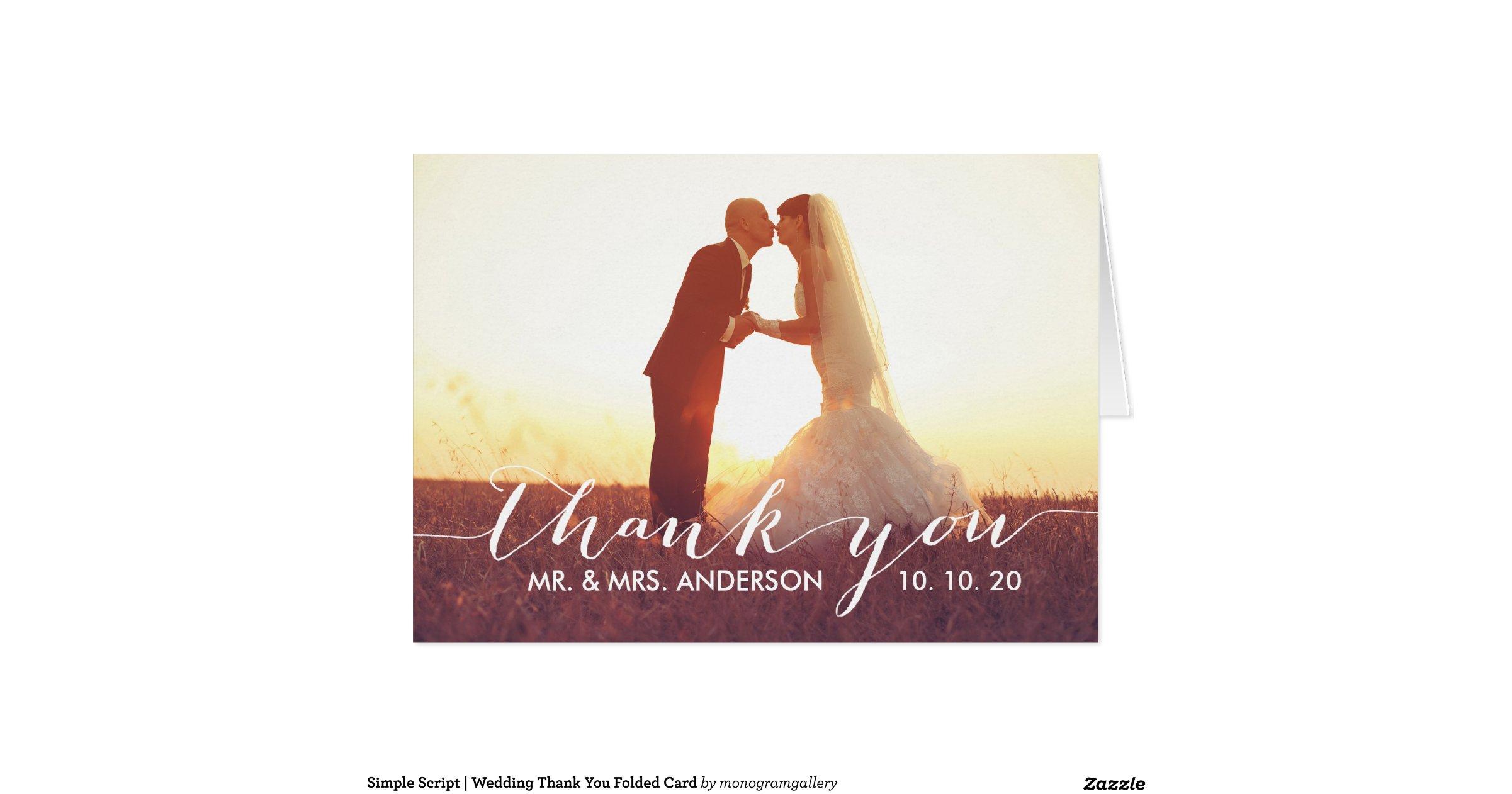 simple script wedding thank you folded card re1462555017b44e1a861c7127e7b221d xvua8 8byvr 1200