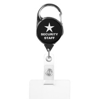 Simple Security Staff Badge Holder