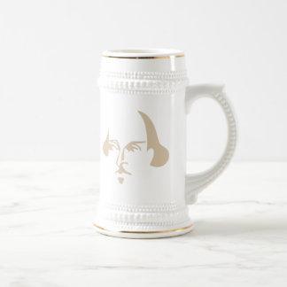 Simple Shakespeare Beer Stein