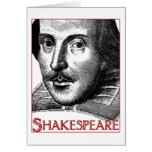 Simple Shakespeare Logo Greeting Card