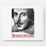 Simple Shakespeare Logo Mouse Pad