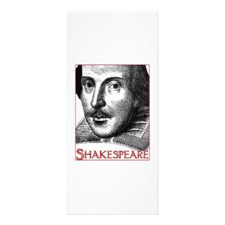 Simple Shakespeare Logo Rack Card Template