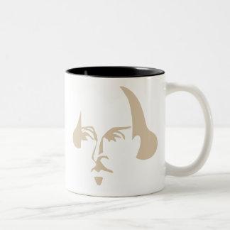 Simple Shakespeare Two-Tone Coffee Mug