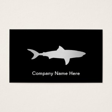 Professional Business Simple Shark Business Cards