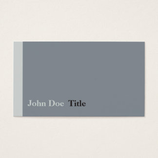 Simple side stripe Business card