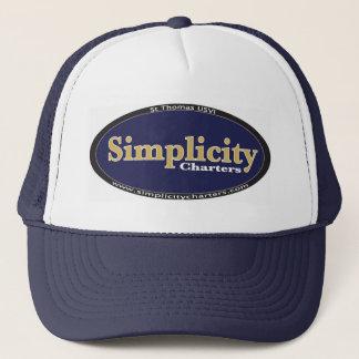 Simple Simplicity Gear Trucker Hat