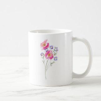 Simple sketchily Drawn Daisies Classic White Coffee Mug