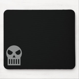 Simple Skull Mouse Pad