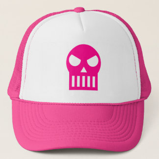 Simple Skull Trucker Hat