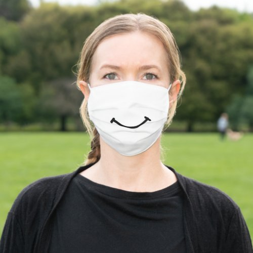 Simple Smile Unisex Cloth Face Mask