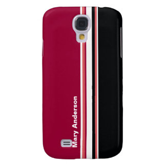 Simple Stripes Samsung Galaxy S4 Cover