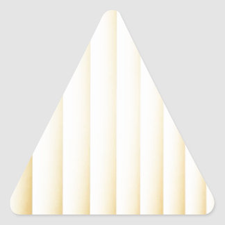 Simple Style Triangle Sticker