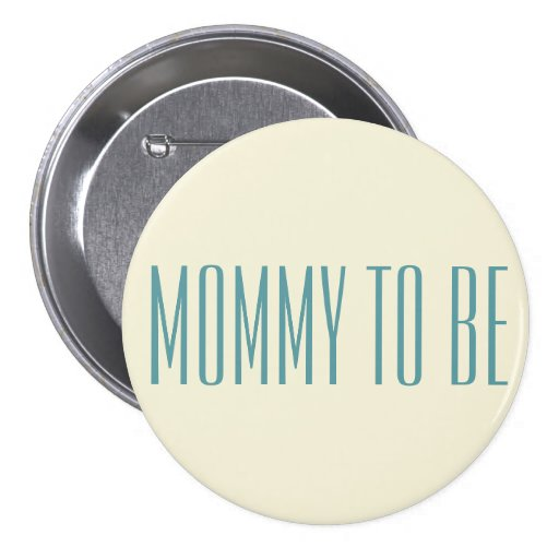 Simple Stylish Mommy To Be Blue Font For Baby Boy Pin