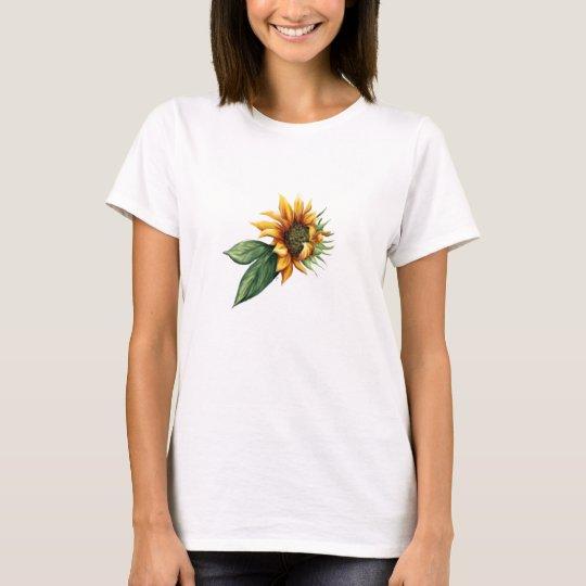 Simple Sunflower Shirt