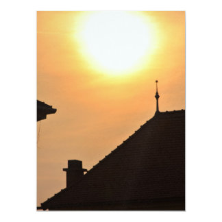 Simple sunset 6.5x8.75 paper invitation card