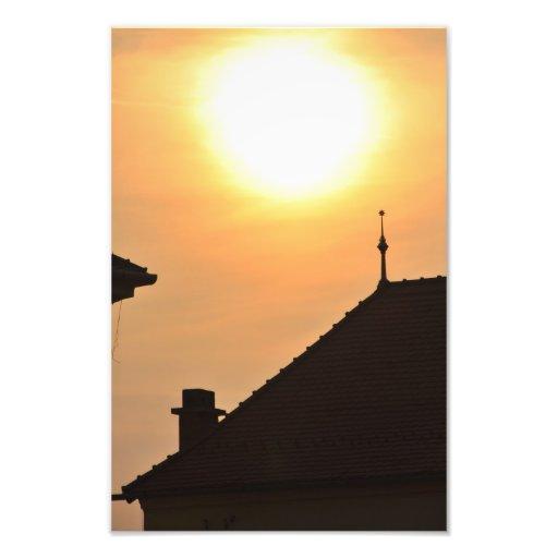 Simple sunset photograph