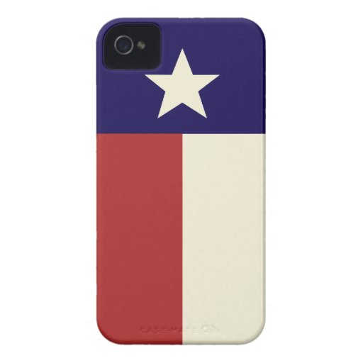 Simple Texas Flag iPhone 4 Cases