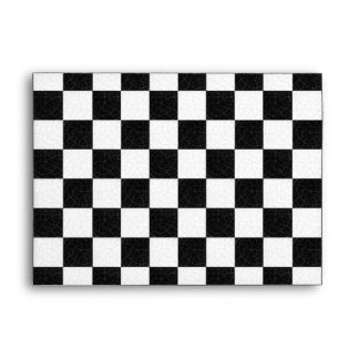 Simple textured checkerboard envelopes