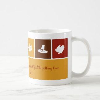 Simple Thanksgiving Icons Mug