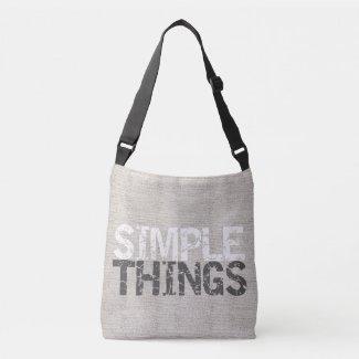 Simple Things Burlap ID184