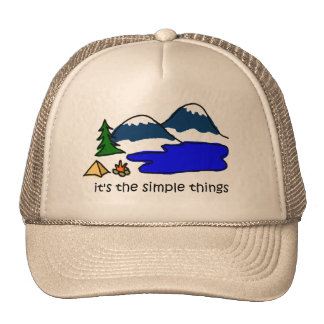 Simple Things - Camping Trucker Hat