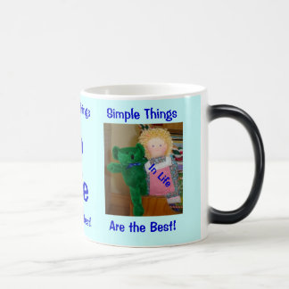 Simple things in life Morphing Mug