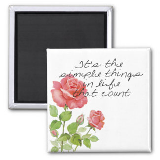 Simple Things Magnet