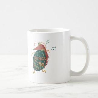 Simple Things Make Me Happy Classic White Coffee Mug