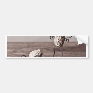 Simple Things - Man and Dog Car Bumper Sticker