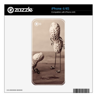 Simple Things - Man and Dog iPhone 4 Skin