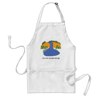 Simple Things - Waterfall Adult Apron